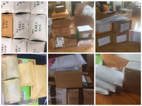 通过邮寄和送上门方式,为那些不方便前来领取的乡亲们送上防疫物资2.jpg