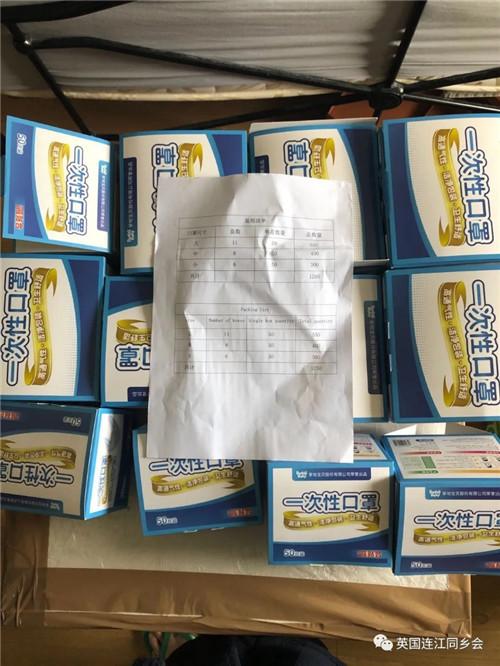 连江县统战部捐赠的一次性口罩 6000 个.jpg