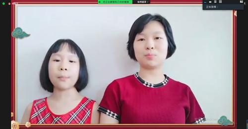 营员庄佳怡、庄梓彤姐妹俩共同发表感言(图4).png